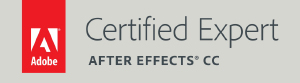 Adobe Certified Expert - After Effects CC